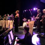 Photo: Yvonne Mandigers performing at Pee Bee & The Night Train